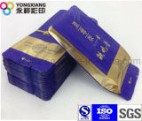 Kundenspezifischer Packpapier-Seiten-Stützblech-verpackenbeutel