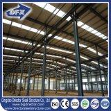 Prefab металл гаража строя изготовление стали сарая промышленного сарая пожаробезопасное