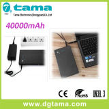 carregador móvel do banco portátil da potência 40000mAh para o portátil