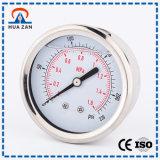 カスタムU字型チューブの圧力計圧力測定鋼鉄水圧力計の液体