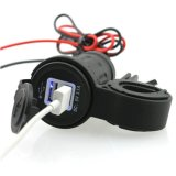 3.1A verdoppeln USB-Motorrad-Auto-Energien-Aufladeeinheit
