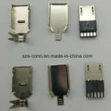 Micro conetor da solda do USB