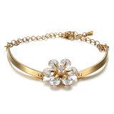 De populaire Armband van de Diamant van het Roestvrij staal van de Vrouwen van de Juwelen van de Manier van het Merk