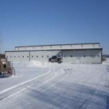 Hangar ligero prefabricado del aeropuerto de la estructura de acero del bajo costo