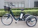 연장자 최신 판매를 위해 디자인되는 좋고 싼 전기 세발자전거