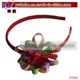 Cadeau de Noël réglé par accessoires de cheveu de décoration de cheveu meilleur (P3049)