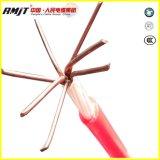 Câble engainé par Hmwpe de cuivre de protection cathodique d'isolation du conducteur PVDF