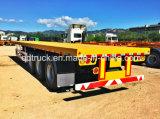 remorque de conteneur de lit plat de 40FT, CIMC remorque