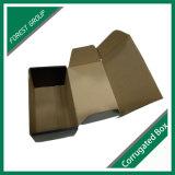 波形のカートンボックス白黒印刷のボール紙のボックスによってカスタマイズされるサイズ