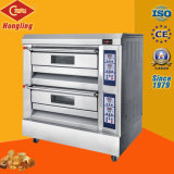 Two Deck / Four Tray Professional Luxurious Four à gaz de Bakery Machine