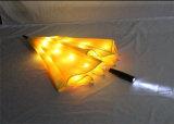 Зонтик изготовленный на заказ зонтика СИД светлого выдвиженческий