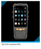 Programmierbares 4G androides Hand-PDA industriell mit Barcode-Scanner