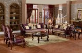 Sofà antico del tessuto per mobilia domestica