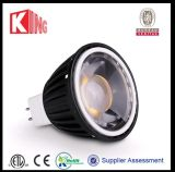 ETL UL 운전사 LED MR16 Gu5.3 전구 Dimmable 12V MR16 LED 전구 3W 5W 6W