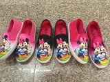 Gefrorene Karikatur-Drucken-Kind-beiläufige Segeltuch-Schuhe