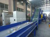 Película de PP PE desperdiciada Botella de animal doméstico / escamas Trituración de lavado Línea de secado / gránulos reciclados que hace la máquina