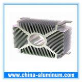 Fábrica decorativa de calidad superior de China del perfil de la puerta de la ventana de aluminio