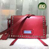 Saco de ombro longo enchido do mensageiro do Tote da cinta da bolsa dos sacos das mulheres couro à moda para as senhoras Emg5155