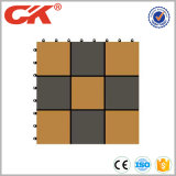 Azulejo del Decking de DIY WPC, azulejo compuesto del Decking DIY hecho en China