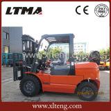 Vendite del carrello elevatore a forcale del gas della Cina 4t GPL