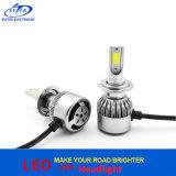 2017 la lumière principale de Turbo la plus neuve 36W 3800lm H7 C6 DEL pour le phare de véhicule