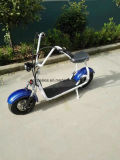 2016 el más de moda Citycoco 2 Rueda Scooter eléctrico, Adulto motocicleta eléctrica