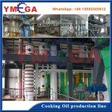 Proceso entero automático completo industrial del petróleo de cacahuete que hace la línea