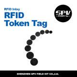 Бирка печатание круглой монетки RFID пассивная