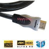 cable de 1080P HDMI para 3D, 4k