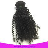 Чернота перуанских человеческих волос верхнего качества Weft естественная