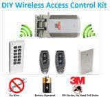 Sistema sin hilos del control de acceso de DIY