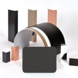Des Aluis Äußer-6mm Aluminiumhaut-Stärke Feuer-Nennkern-Aluminiumder zusammensetzung-Panel-0.40mm des PVDF Grau-Silbers