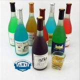 Frasco de vidro sem chumbo 500ml de vinho do branco do vinho vermelho de classe elevada---750ml