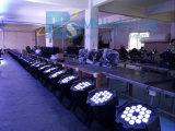 4in1 het LEIDENE van het Stadium Licht van het LEIDENE 24/36*4W RGBW Licht van het PARI/