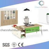Kundenspezifischer Möbel-populärer Chef-Gebrauch-Büro-Melamin-Schreibtisch