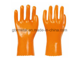 Перчатки 928 работы перчаток нового покрытия PVC ваты типа пластичные
