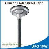 1太陽街灯の屋外の庭の照明のIP65 15W UFOすべて