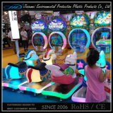 De plastic Rit van de Kinderen van Delen op Speelgoed met de Directe Aanbieding van de Fabriek