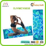 Esteras lavables respetuosas del medio ambiente de la yoga del caucho natural de la manera clásica