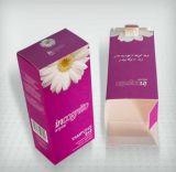 Personalizada logotipo de papel de cartón regalo embalaje cuadro