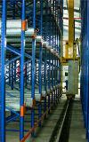 Автоматизированные хранение и система поиска информации (ASRS) с краном штабелеукладчика