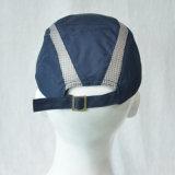 Gorra de béisbol azul del poliester sin insignia