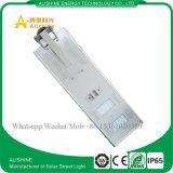 La lámpara al aire libre solar 40W impermeable integró todos en una luz de calle solar del LED