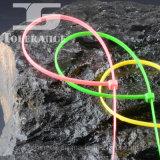 Ataduras de cables multi del nilón de los colores de la aprobación de RoHS