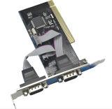 PCI к 9pin серийному порту RS232 расширяет карточку