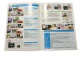 Nueva impresión del catálogo del papel de arte de la buena calidad del diseño con ULTRAVIOLETA
