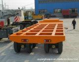 2 Eixos Super Low Bed Veículo Semi-reboque