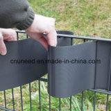 100%UV cerca el 19cm*2.53m dura colorida del jardín del PVC de la resistencia 1.3m m
