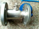Ss304/Ss316 uma válvula de esfera da flange da parte para o uso da indústria