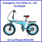 """20 """" batterie cachée électrique de batterie au lithium de *4.0inch 250W 350W pliant le gros vélo de pneu"""